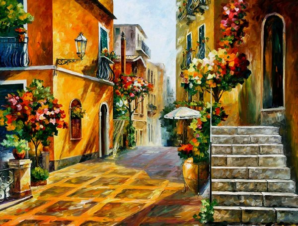The Sun of Sicily by Leonidafremov
