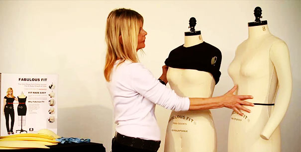 how to make your own dress form: padding your dress form is an important part you can