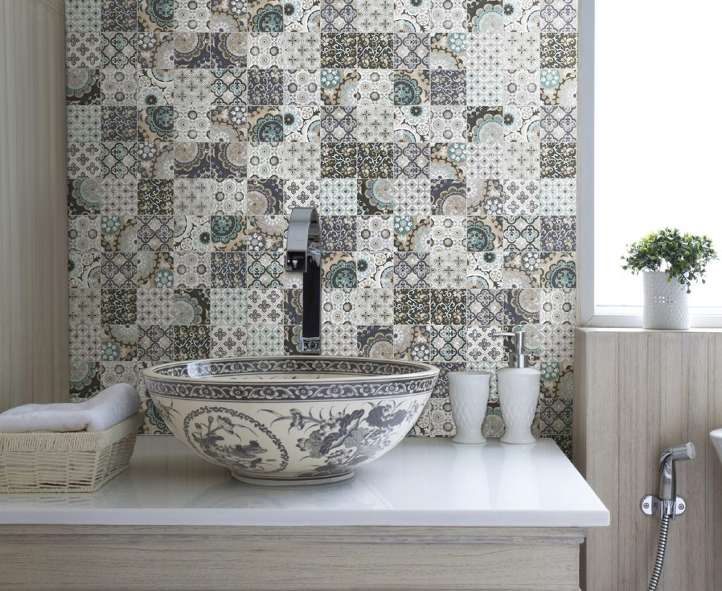 Ванная в стиле пэчворк: 50+ фото плитки в стиле пэчворк для ванной – 5 красивых идей для воплощения – Газета «Право» — Inside — дизайнерская мебель и освещение