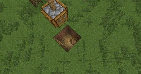 Как использовать люк в Minecraft