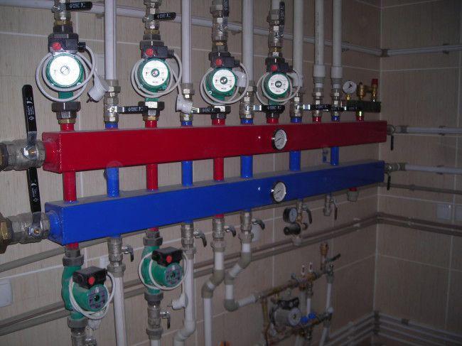 распределительный гидроколлектор