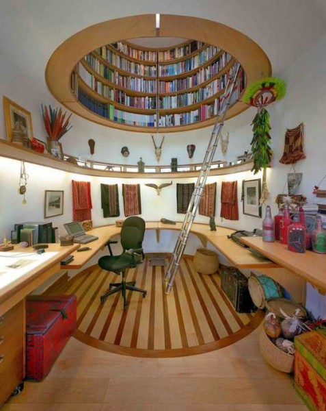 Дизайн интерьера кабинета представителя творческой профессии