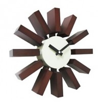 Настенные часы Block Clock