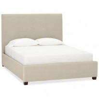 Кровать Raleigh Upholstered Square Tall Bed & Headboard