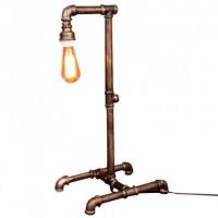 Настольная лампа Pipe Steampunk